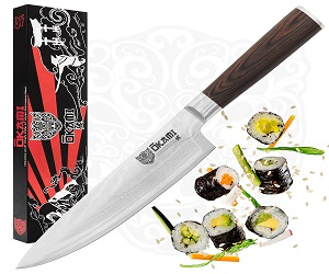 Okami Knives 8 inch Chef Knife Review